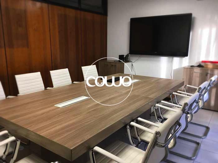 Sala riunioni al Coworking Novara