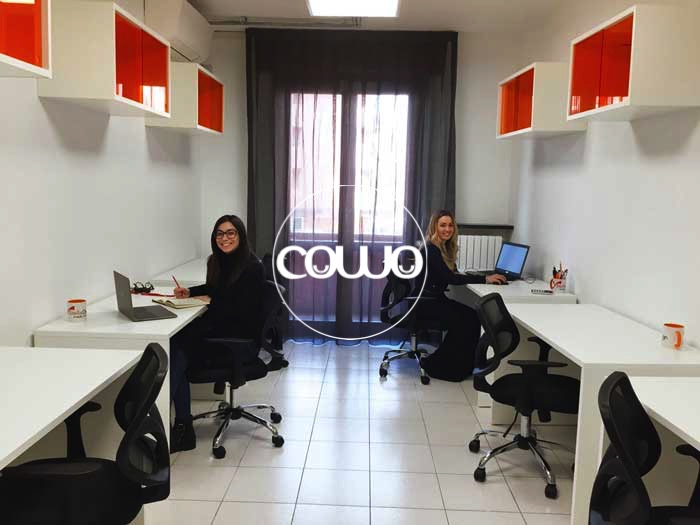 Scrivania individuale al Coworking Novara
