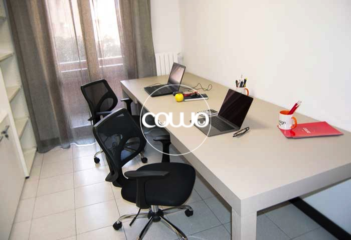 Ufficio due persone al Coworking Novara