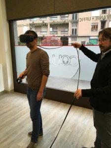 Esperienza di Virtual Reality al Coworking Novara
