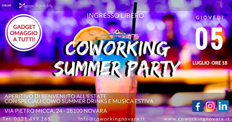 Cowo Novara Summer Party 5 luglio