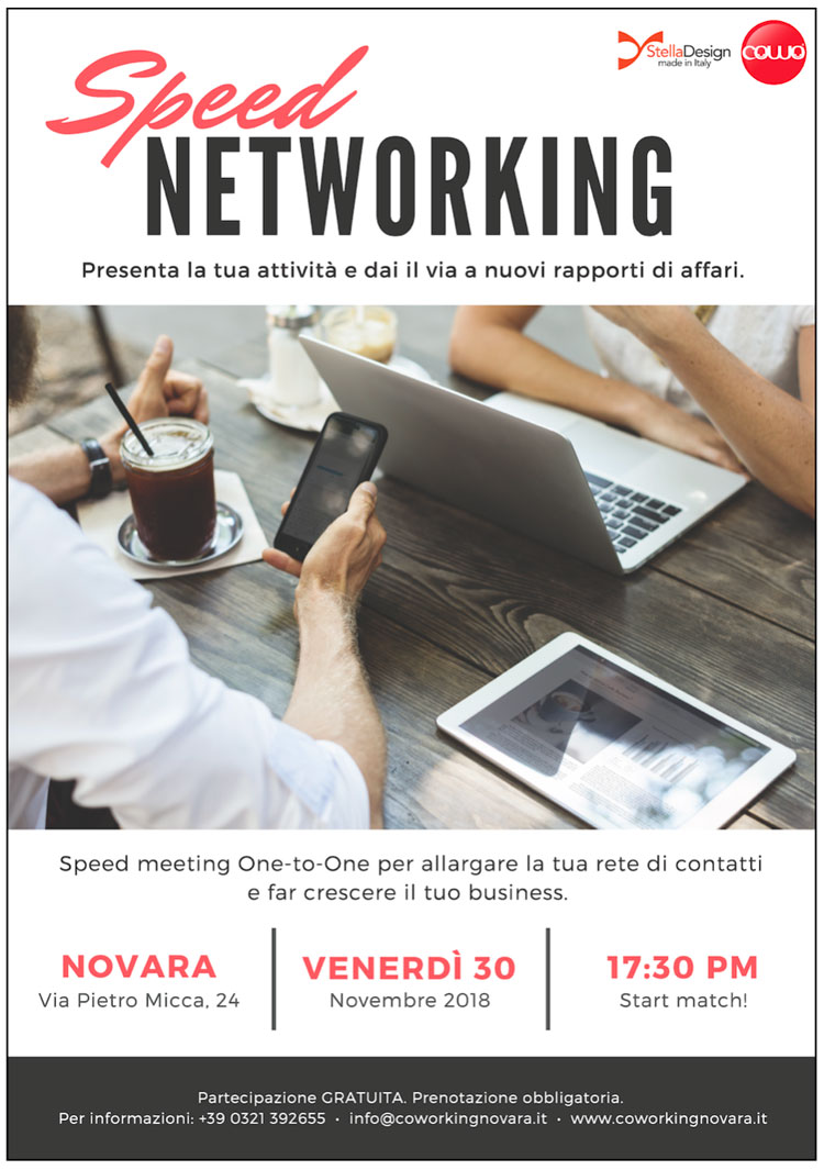 Cowo Novara Speed Networking