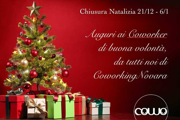 Natale al Coworking Novara 2020